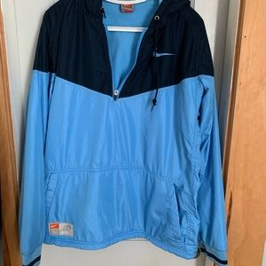 Nike lacrosse fleece quarter zip pullover